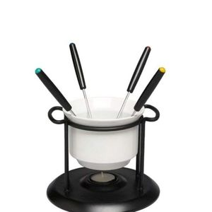 7 Pc Chocolate Fondue Set